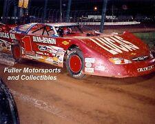 EARL PEARSON JR #1P LUCAS OIL FORD TAURUS DIRT LATE MODEL CAR 8X10 PHOTO 2006
