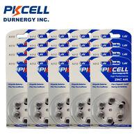 180x PKCELL 1.4V 312 A312 PR41 7002ZD B347PA ME7Z Zinc Air Hearing Aid Battery