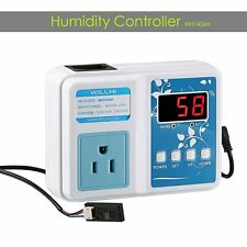 AC 110V Pre-wired Smart Digital Air Humidity Control Controller Hygrometer US