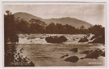 Argyllshire postcard - Mountain and Flood, Glen Orchy, Dal Mally - RP (A61)