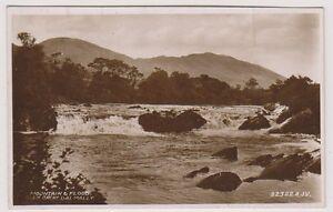 Argyllshire postcard - Mountain and Flood, Glen Orchy, Dal Mally - (A61)