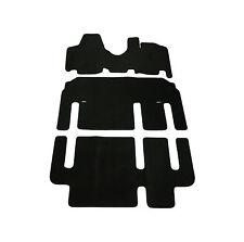 Fully Tailored Fit Black 1 Piece Carpet Van Floor Mat Set for LDV Maxus 05-09