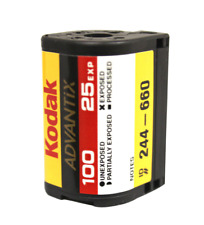Kodak Advantix 100 ASA 25 EXP APS Film Single Roll