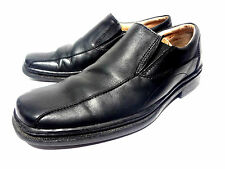 BOSTONIAN LOAFERS BLACK LEATHER MEN'S COMFORT SHOES SIZE 11 M