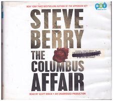 The Columbus Affair Steve Berry Audio Book Cds Unabridged