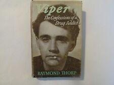 Viper The Confessions of a Drug Addict, Signed, 1956, 1st Ed., Drugs, Marijuana
