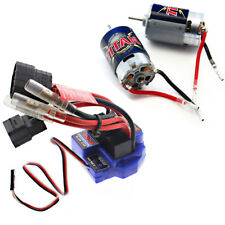 Traxxas 1/10 E-Maxx * 16.8V WATERPROOF EVX-2 ESC & TWO 21T TITAN 550 MOTORS * 14