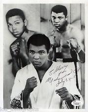 Muhammad Ali Real hand Signed 8x10 1981 vintage photo Jsa full Loa Boxing