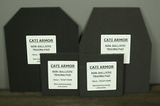 CATI Armor 10mm Trauma Pads Backers Pair 10x12 6x6 For AR500 Plates SWIM/SAPI