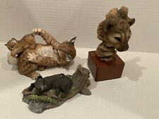 28E Wildlife, Bears, Couger, Lynx Cat, Playfull Morning
