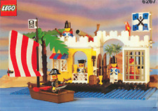 INSTRUCTIONS ONLY LEGO LAGOON LOCK-UP 6267 book manual from set Pirates
