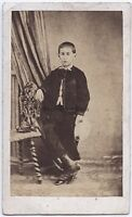 Oustric Fotografia Primitivo Carcassonne CDV Vintage Albumina 1867