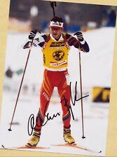 Ole Einar Björndalen (13) Autograph Picture Large Format 15 x 21 + Ski AK FREE