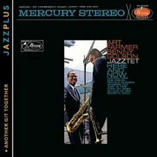 ART FARMER/BENNY GOLSON JAZZTET - HERE AND NOW (+ANOTHER GIT TOGETHER)  CD NEU