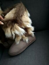 Warm Winter Ug Style Boots JUSTFAB Size 4