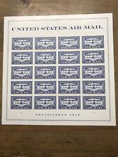SCOTT #5281  Airmail Blue 20  MNH FOREVER STAMP SHEET