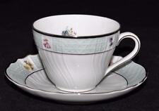 Hutschenreuther Dresden 9206 Platinum - Coffee Cup & Saucer Set
