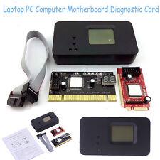 Mini Laptop PC PCI-E PCI Diagnostic Test Tester Debug Post Card & LPC USB Cable