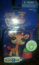 Littlest pet shop #943 Giraffe Toys R Us Exclusive toy very rare new in package