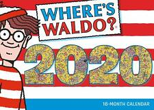 WHERES WALDO - 2020 WALL CALENDAR  - BRAND NEW - 907730