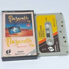 NAZARETH GREATEST HITS IMPORT CASSETTE TAPE ALBUM FOOTPRINT CLASSIC ROCK