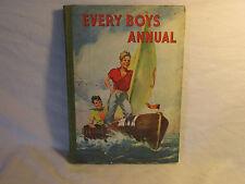 VINTAGE - COLLECTABLE THE BOYS ADVENTURE BOOK 1947,-COLOUR