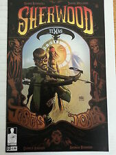 SHERWOOD, TEXAS ISSUE # 2.  12-GUAGE COMICS. AUGUST 2014.  HOT TITLE.  NM