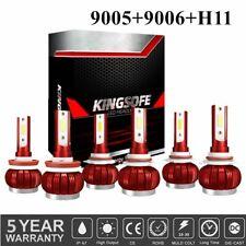 9005 H11 9006 Cree 300w Led Headlight Conversion Kit Hi Low Beam Fog Light