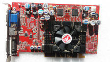 ATI Radeon 9500, 64 MB DDR, DVI-I, VGA D-sub, S-Vídeo TV-Out, AGP 8x