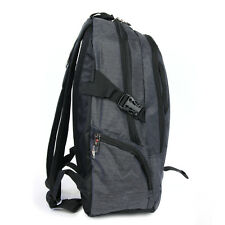 Rucksack grau Laptoptasche Notebookrucksack Polyester OTD606S