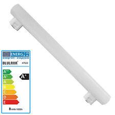 Linienlampe LED 8 Watt 50cm (Länge wie 60 Watt) S14s 2 Sockel Röhre Birne 60W