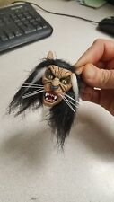Custom Michael jackson thriller wolf head for 12 inch body rooted hair new