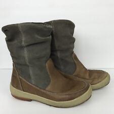 Cougar Boots Womens Size 7 M Waterproof Leather Slouchy Brown