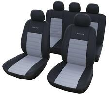 Coprisedili Universali Auto Grigio Seat Fiat Alfa Audi Bmw Vw Opel Skoda Kia ecc
