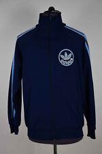Vintage Adidas Men's Track Top Jacket  Tracksuit 80s size M/L 174cm