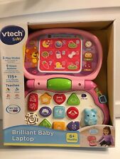 VTech Brilliant Baby Laptop Pink Kids' Electronics nib new