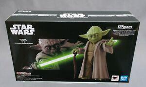 SH S.H. Figuarts Yoda STAR WARS Revenge of the Sith Bandai Limited Japan New
