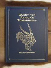 Quest for Africa's Tomorows by Kevin Duckworth Limited Edition Safari Press