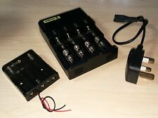 Nitecore i4 Intellicharger Battery Charger & Series-wired battery holder