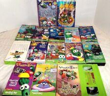 Veggie Tales VHS Tapes Lot 16 Christian Morality Big Idea
