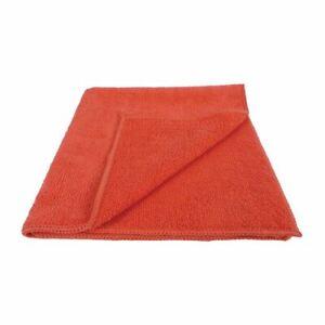 EcoTech Microfibre Cloths Red Pack Quantity: 10