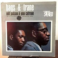 Bags & Trane by Milt Jackson/John Coltrane Atlantic Records 1961 Vinyl 1st Press