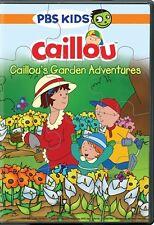 CAILLOU'S GARDEN ADVENTURES New Sealed DVD PBS
