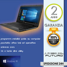 NOTEBOOK HP 255 G5 QUAD CORE 4GB 500GB W4M80EA AtiHD8210 DVDRW WIN10 + PROGRAMMI