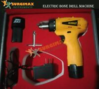 ORTHOPEDIC ELECTRIC BONE DRILL SURGICAL VETERINARY & SPEED Control