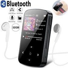 HiFi Lossless Sound 32Gb Bluetooth Music Mp3 Player Clip Fm Radio Voice Recorder