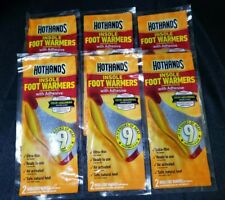 (6 Pairs) HotHands Insole Foot Warmers with Adhesive Odor Absorbing Heat EXP2023