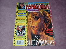 FANGORIA # 111, Sleepwalkers, Leprechaun, Lawnmower Man, FREE SHIPPING in USA