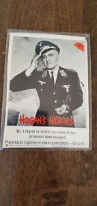 1965 FLEER HOGANS HOGAN'S HEROES CARD SIR NONE OF OUR PRISONERS HAVE ESCAPED # 2