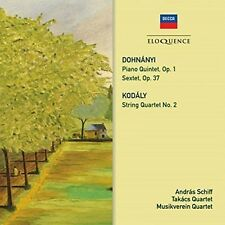 Andras Schiff / Musi - Dohnanyi: Piano Quintet/Sextet/Kodaly: String QRT [New CD
